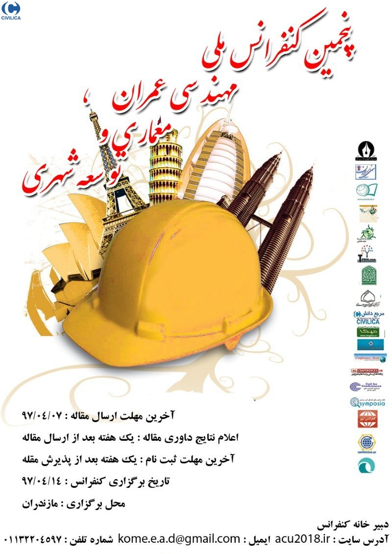 Poster of The 5th  National Conference on Civil Engineering, Architecture and Urban Development