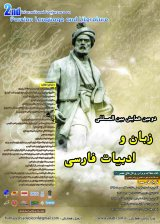 Poster of Second International Conference on Persian Language and Literature