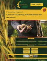 Poster of 2nd International Congress of Agricultural Engineering, Natural Resources and Environment