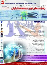 Poster of The second scientific conference on modern approaches to human sciences in Iran