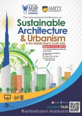 The 5th International Conference on Sustainable Architecture and Urbanism in the Middle East and South Asia
