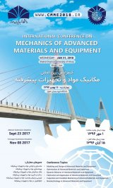Poster of International Conference on Mechanics of Advanced Materials and Equipment