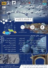 Poster of First National Conference on Applied Chemistry and Nanochemistry
