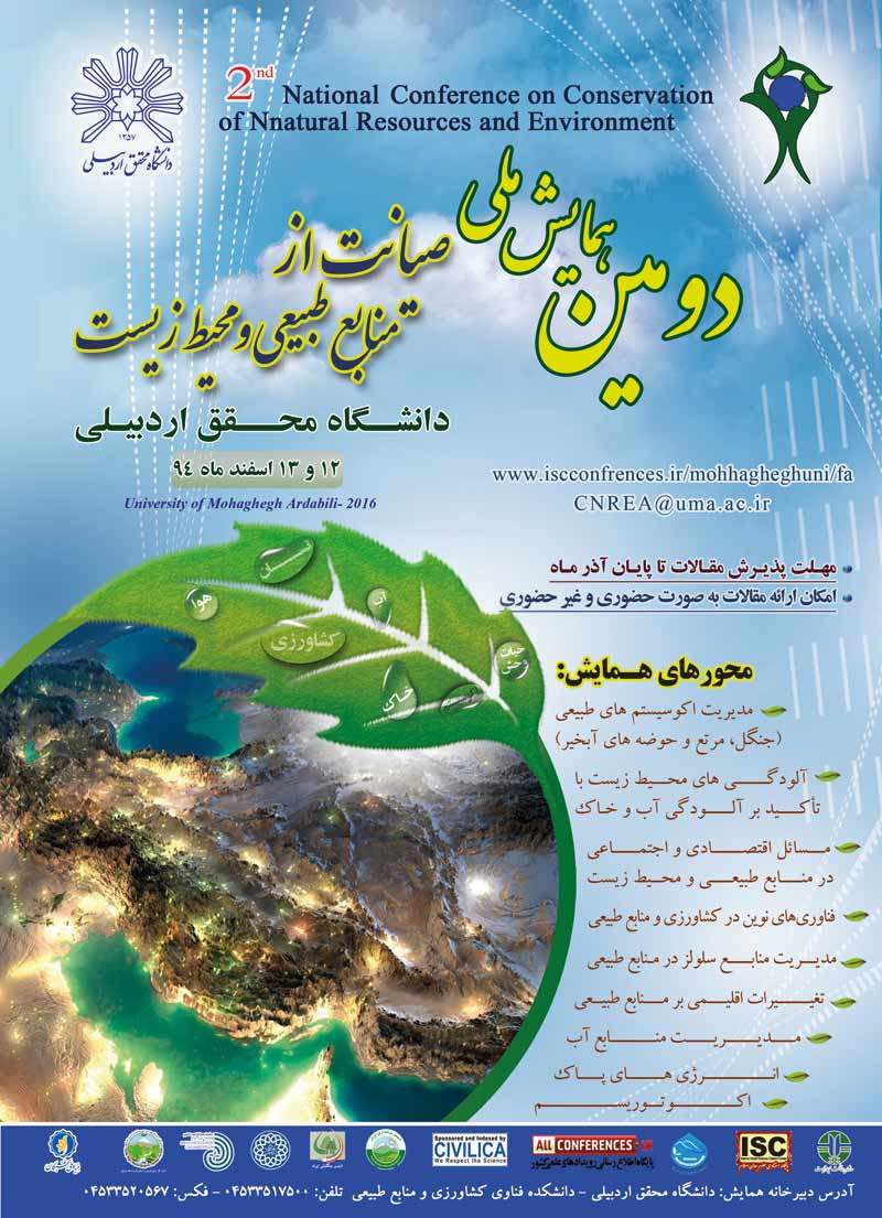 Poster of 2nd Coference on Conservation Natural Resources and Environment
