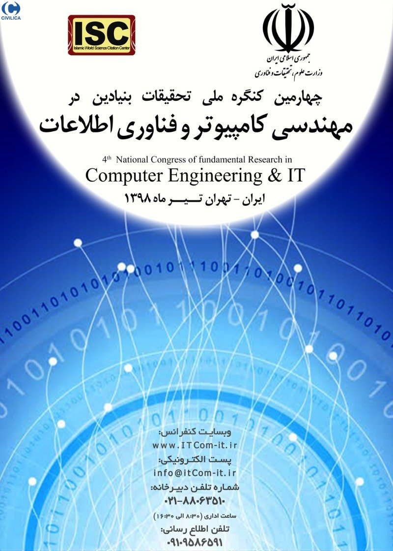 Poster of National Congress of Basic Research in Computer Engineering and Information Technology
