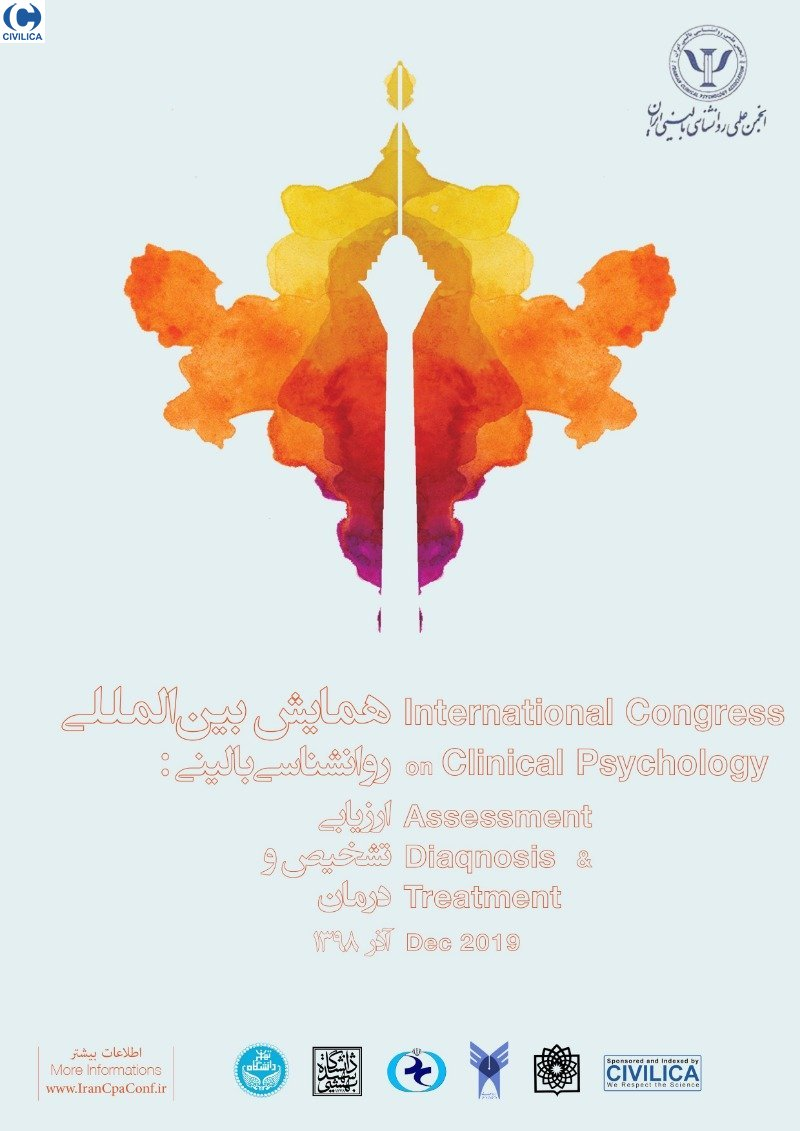 Poster of International Conference on Clinical Psychology: Assessment, Diagnoses & Treatment
