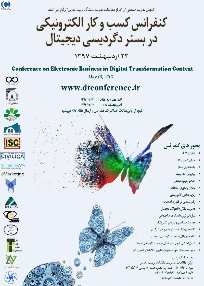 Poster of Conference on Electronic Business in Digital Transformation Context