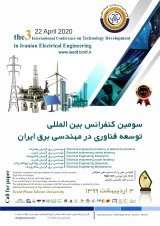Poster of 3rd International Conference on Technology Development in Electrical Engineering of Iran
