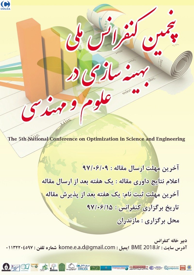 Poster of The 5th National Conference on Optimization in Science and Engineering