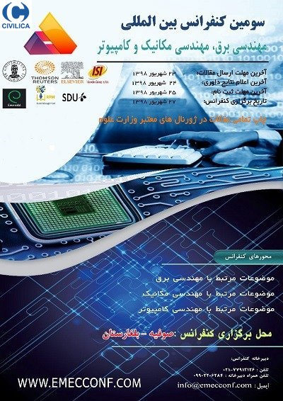 Poster of 3rd International Conference on Electrical Engineering, Mechanical Engineering, Computer Science and Engineering