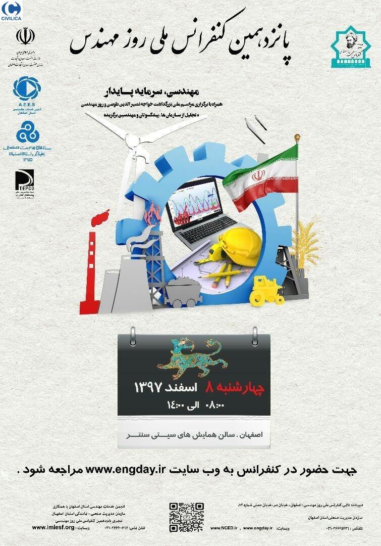 Poster of The 15th National Day of the Engineer