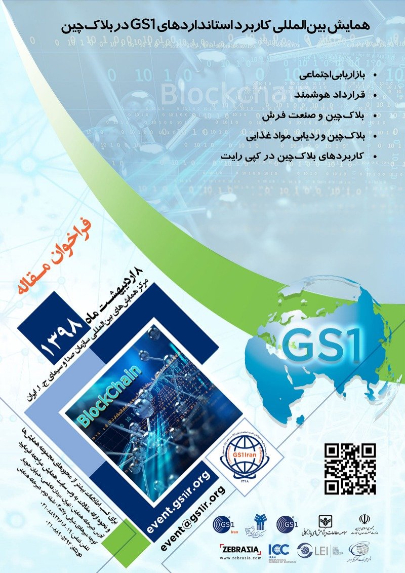 Poster of International Conference on the Application of GS1 Standards in BlockChin