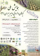Poster of  Second National Conference on Iranian Medicinal Herbs