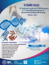 Poster of  16th National Congress of Biochemistry and 7th International Congress of Biochemistry and Molecular Biology