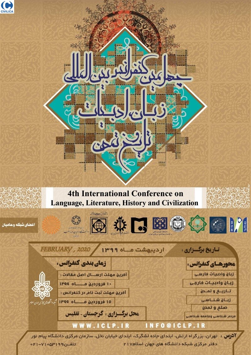 Poster of 4th International Conference on Language, Literature, History and Civilization