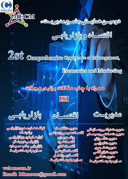 Poster of 2th International Conference on Management, Economics and Marketing