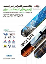Poster of The 5th International Non-destructive Testing Conference of Iran