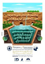 Poster of 5th National Conference on Irrigation and Drainage Networks Management and 3rd National Congress on Iran
