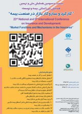 Poster of 23th National Conference on Insurance and Development