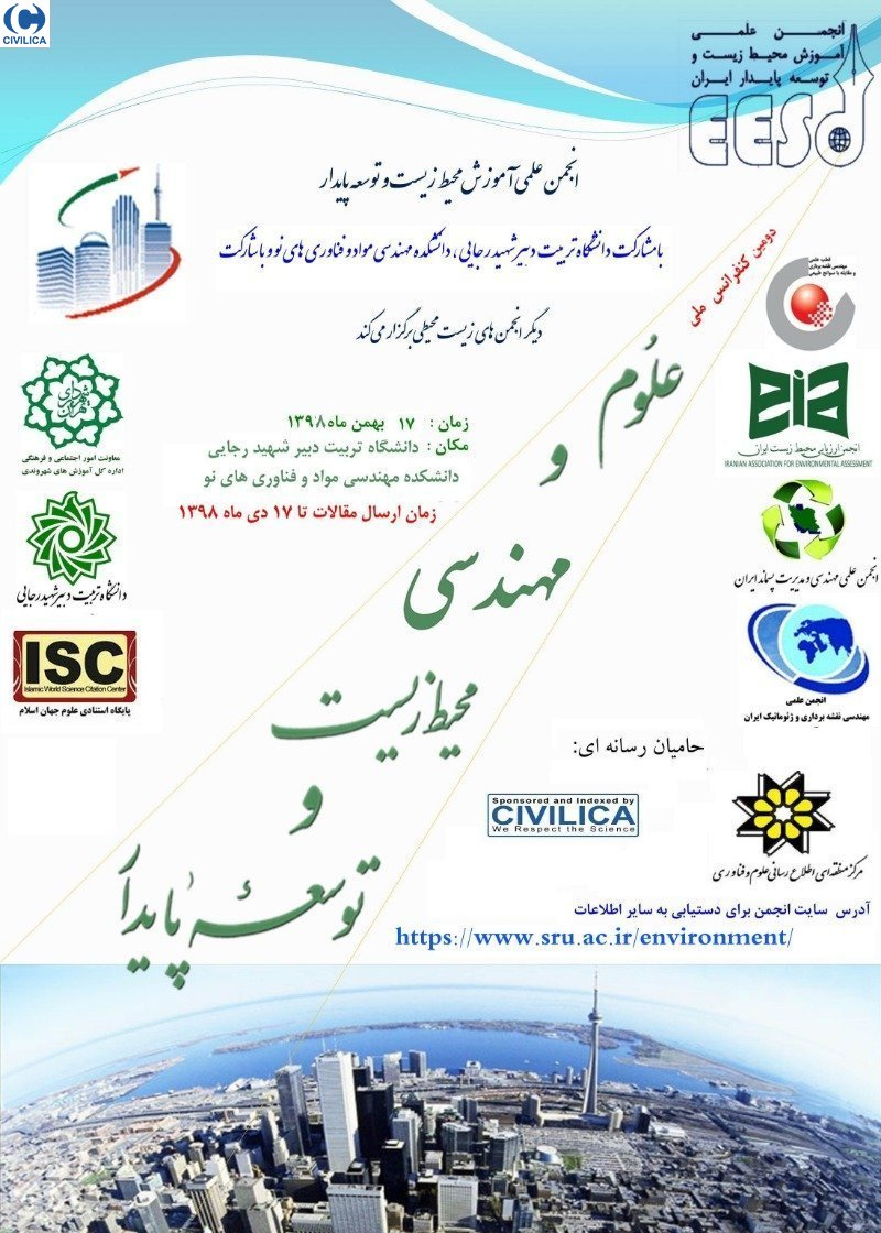 Poster of Second National Conference on Environmental Science and Engineering and Sustainable Development