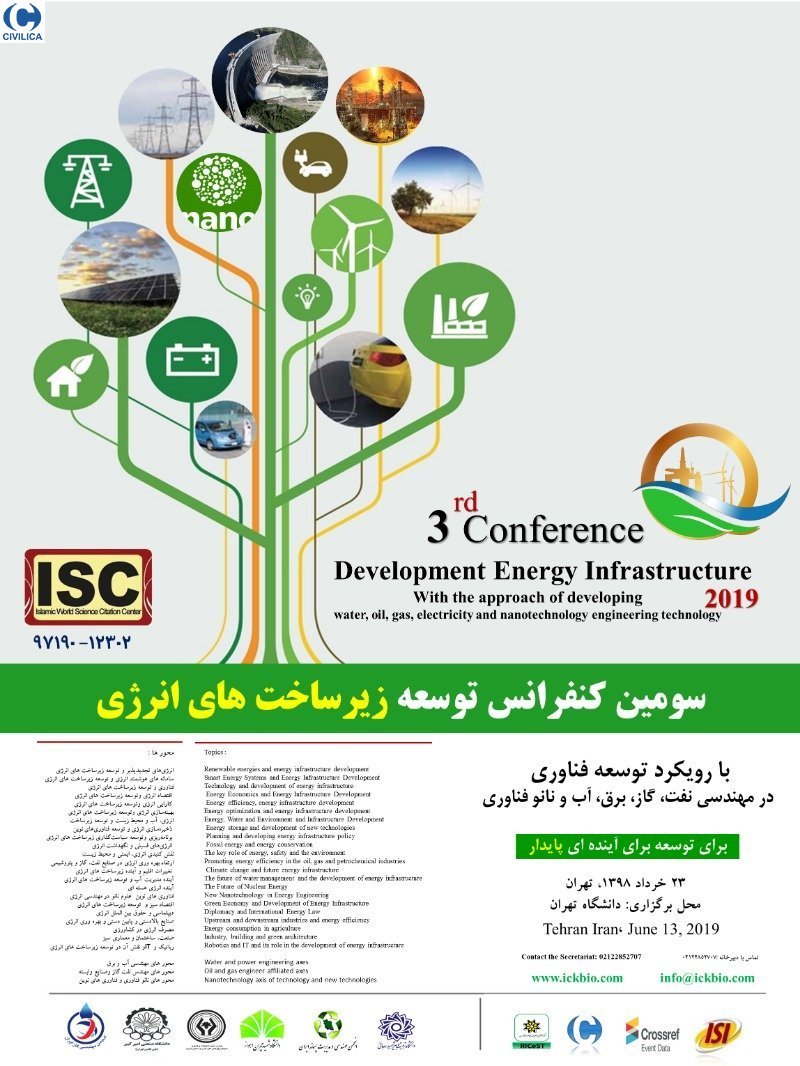 Poster of Third Conference on Energy Infrastructure Development