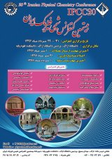 Poster of 20th Iranian Conference on the Chemistry of Physics