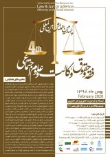 Poster of 4th International Conference on Jurisprudence and Law, Law and Social Sciences