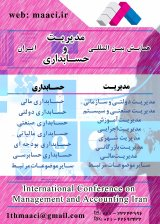 Poster of  International Conference on Management and Accounting Iran