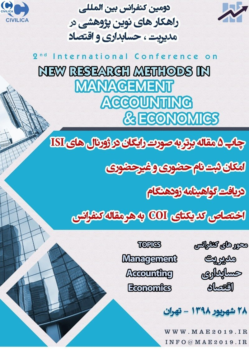 Poster of 2nd International Conference on New Research Solutions in Management, Accounting and Economics
