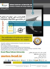 Poster of National Conference on Technology Development in Mechanics and Aerospace