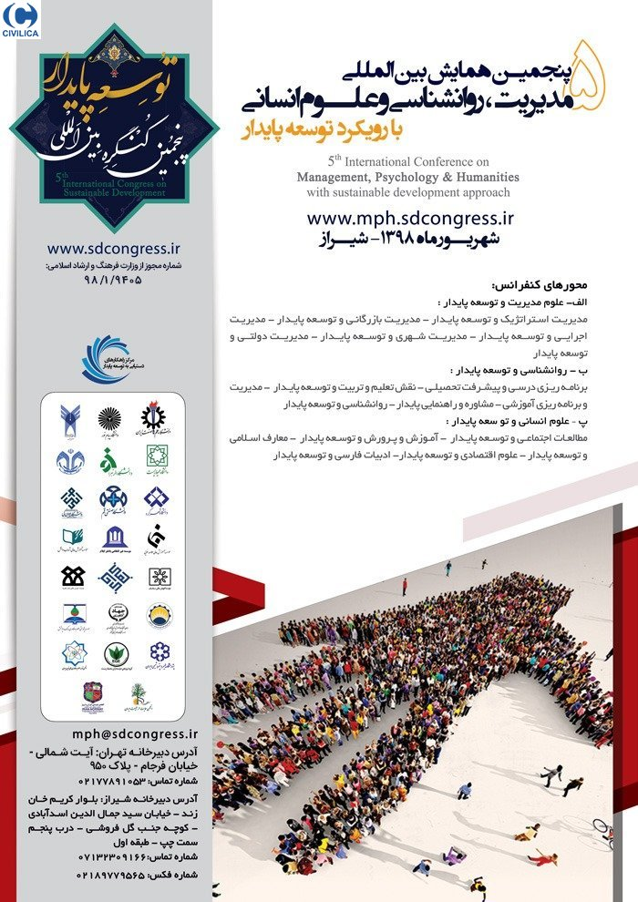 Poster of The 5th International Conference on Management,Psychology & Humanities with Sustainable development approahc