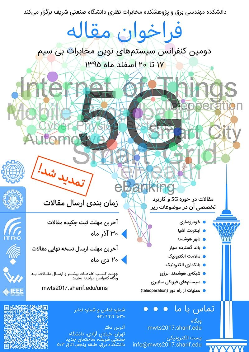Poster of Seconf Conference on New Telecommunication Systems