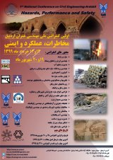 Poster of 1st National Conference on Civil Engineering - Ardabil: Hazards, Performance and Safety