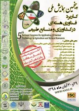 Poster of Fifth National Conference on Application of Nuclear Technology in Agriculture and Natural Resources