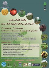 Poster of 5th natioal & 1st international conference on organic vs.conventional agriculture