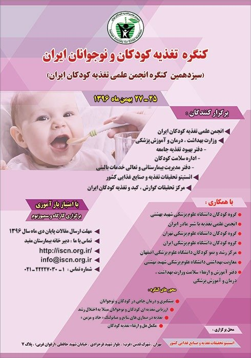 Poster of 13th Congress of Iranian Children