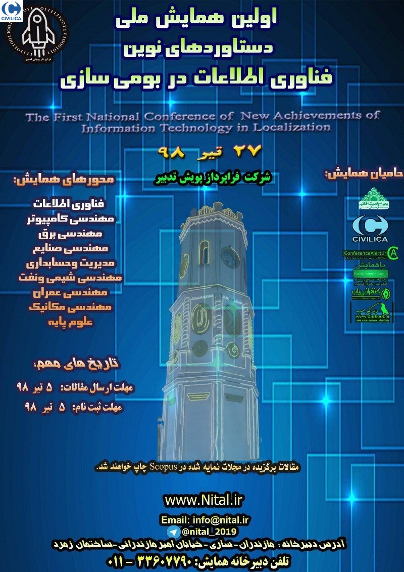 Poster of New Achievements of Information Technology in Localization