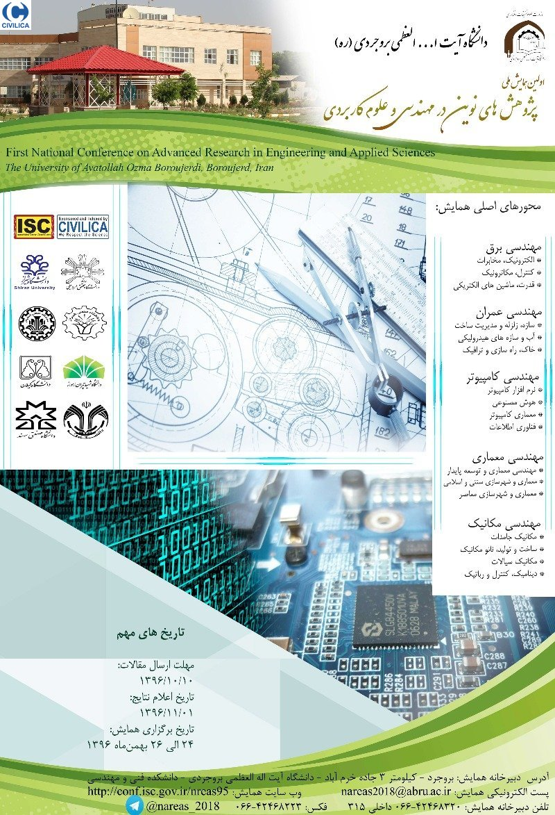 Poster of First National Conference on Advanced Research in Engineering and Applied Sciences