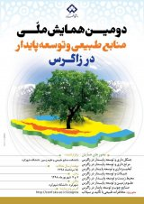 Poster of National Conference on Natural Resources and Sustainable Development in Central Zagros