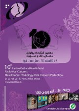 Poster of 10th Iranian Oral, Maxillofacial Radiology Congress