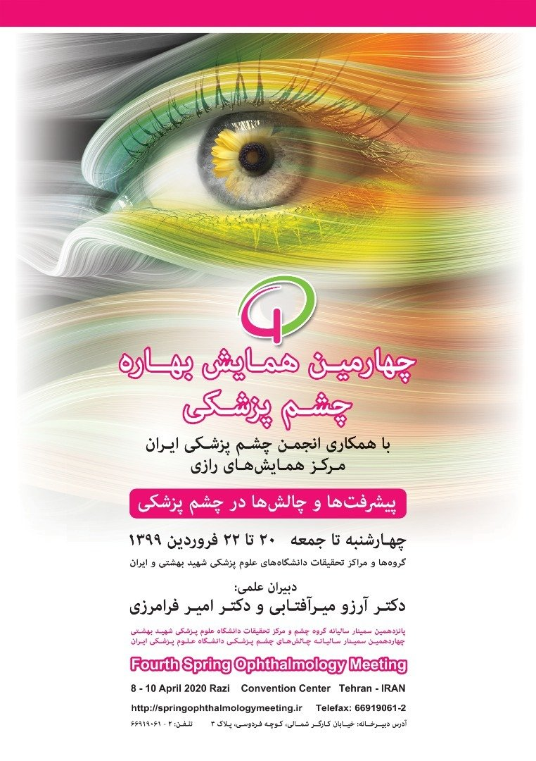 Poster of fourth spring ophthalmology meeting