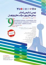 Poster of the 9th international congress on pulmonary diseases,intensive care and tuberculosis