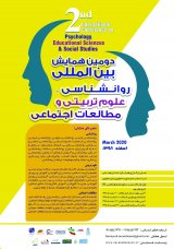 Poster of Second International Conference on Psychology, Educational Sciences and Social Studies