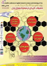 Fourth Scientific Conference on Applied Research in Science and Technology in Iran