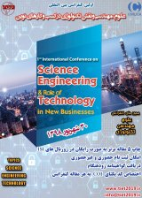Poster of First International Conference on Science, Engineering and the Role of Technology in New Businesses