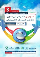 Poster of Third National Conference on Trade Facilitation and Electronic Business