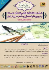 Poster of The 6th Scientific Congress on the Development and Promotion of Iranian Architecture and Urban Science