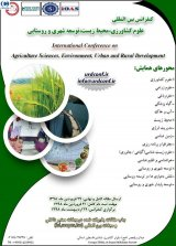 Poster of International Conference on Agricultural Science, Environment, Urban and Rural Development